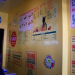 Papaya King menu