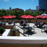 The patio at On Deck Sports Bar & Grill