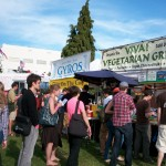 Loads of food options at the North American Organic Brewers Festival!