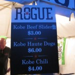 Loads of Kobe dishes from Rogue