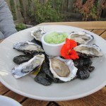 Oysters from Doe Bay Cafe (Orcas Island)