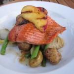 Salmon from Doe Bay Cafe (Orcas Island)