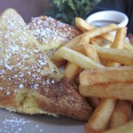 The Monte Cristo sandwich from Emanon Cafe.