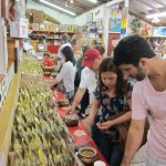 Tasting macadamia nuts at Tropical Farms