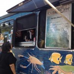 Blue Water shrimp truck in Haleiwa (North Shore)