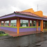 The colorful exterior of Mexicali Express